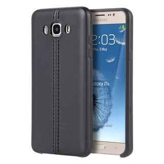 Samsung Galaxy J7(2016)/J710M TPU/Leather Slim Jacket Case