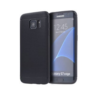 Samsung Galaxy S7 Edge Dotted TPU Back Case