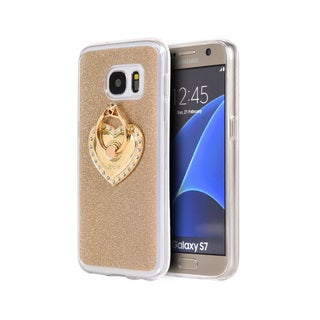 Samsung Galaxy S7 Golden Diamond TPU/Hard Aluminum Case