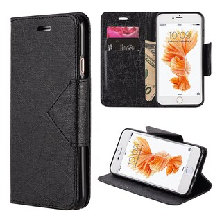 Apple iPhone 6/6S Pyramid Leather Wallet Case