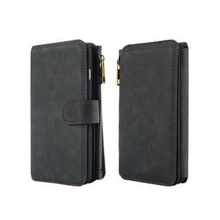 Luxury Coach Series Apple iPhone 6/6s/Plus Flip Wallet Case
