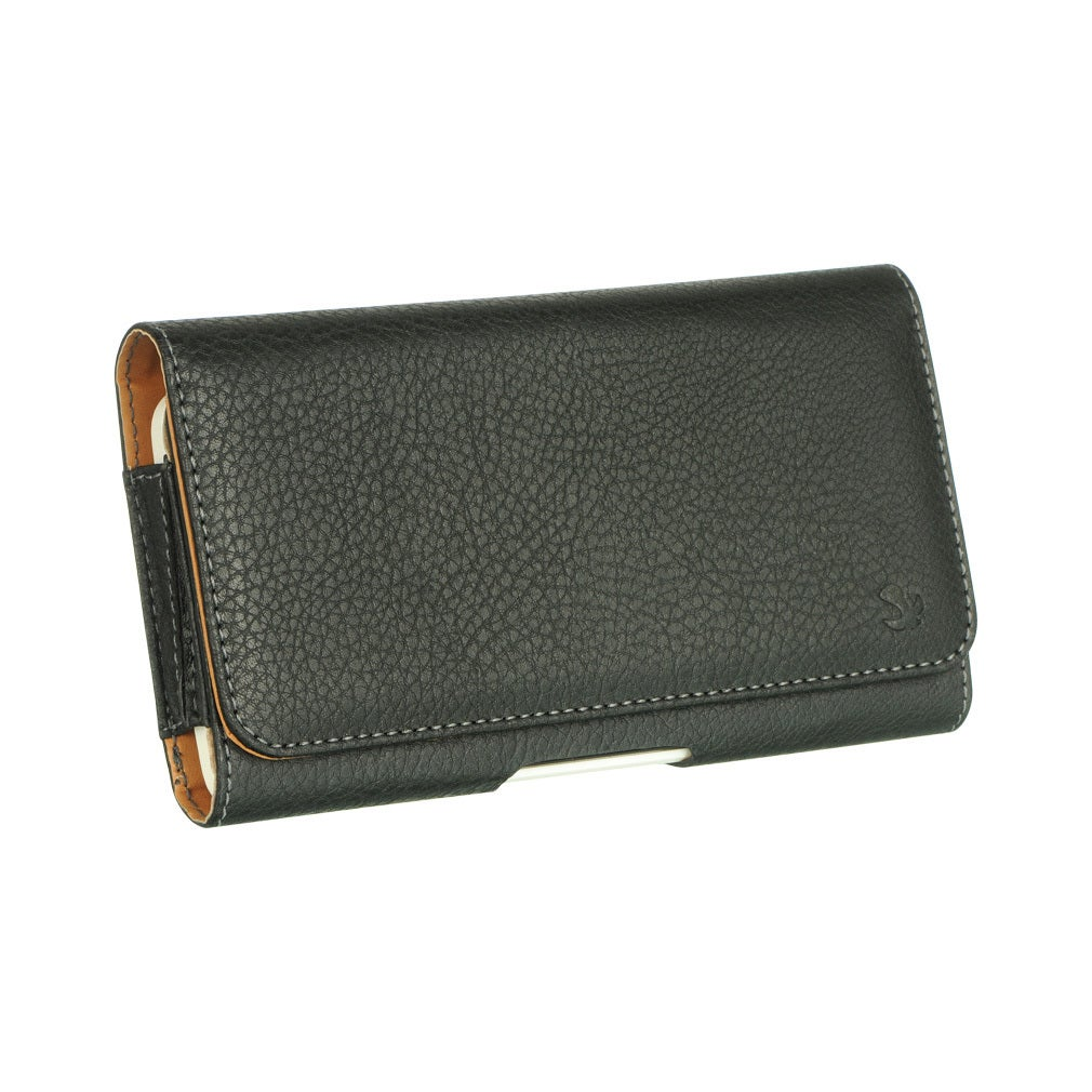 Mega 6.3 LG G Flex ZTE Max Black Leatherette/Neoprene Hor...