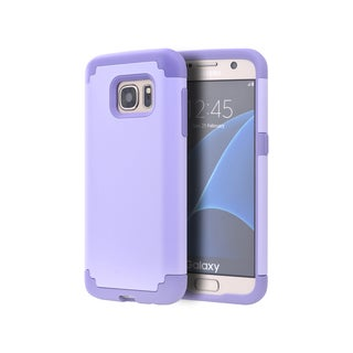 Samsung Galaxy S7 Lavender Skin Hybrid Case