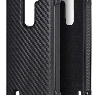 LG K7/Tribute 5 Tough Carbon Fiber Hybrid Case