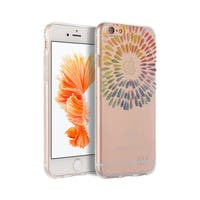 Apple Iphone 6 / 6S Plus 'Band Of Color' TPU IMD Phone Case