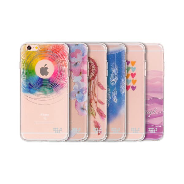 Shop Apple Iphone 6 6s Be Enchanted Tpu Watercolor In Mold