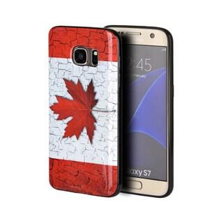 Samsung Galaxy S7 TPU IMD Canadian Flag Case
