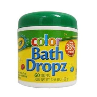 Crayola 3.59-ounce Color Bath Dropz (60 Tablets)