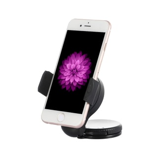 Black Compact Universal Car Holder for GPS/Smartphones