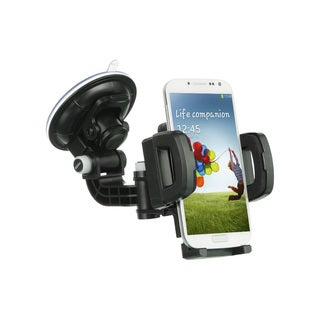 360-degrees Rotatable Universal Car Mount Holder For GPS Cellphone MP3 With Quick Lock Release