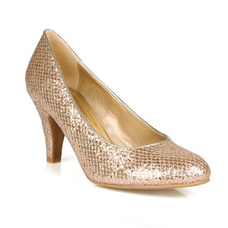 Celeste Ida-02Patent Glittered Women's Pumps
