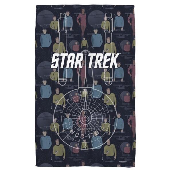 Star Trek/Enterprise Crew Bath Towel