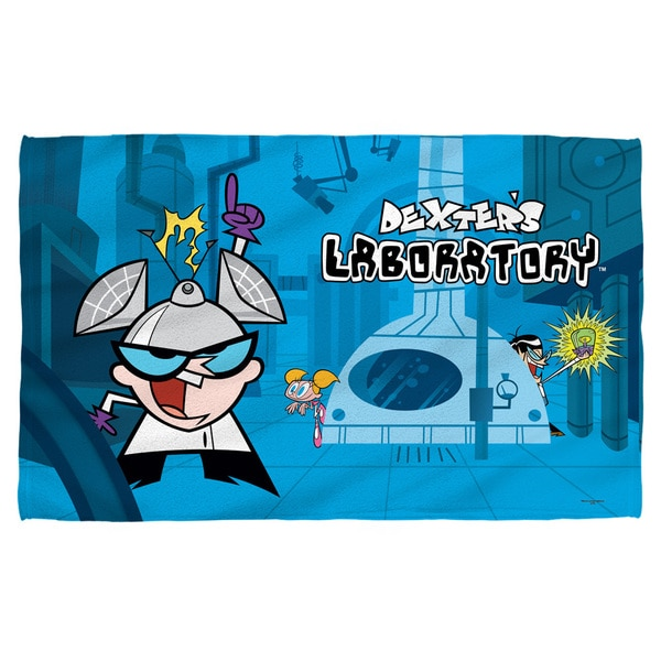 Dexters Lab/Lab Bath Towel