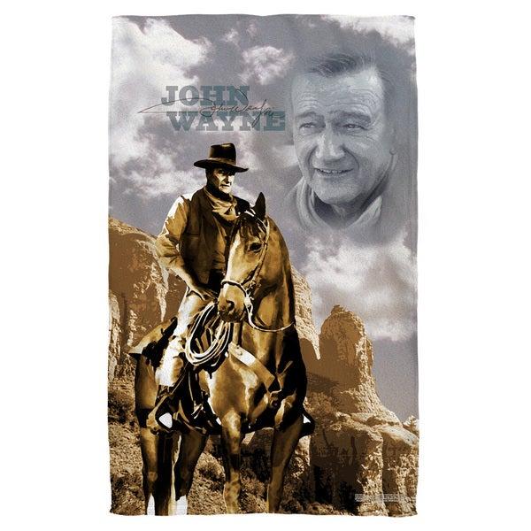 John Wayne/Ride Em Cowboy Bath Towel