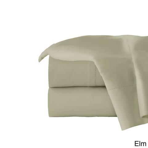 Pointehaven 410 Thread Count Long Staple Cotton Oversized Sheet Set