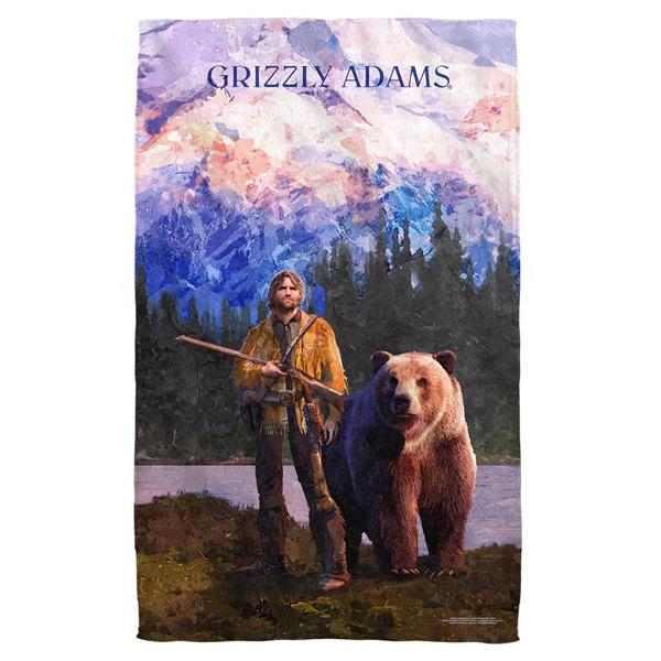 Grizzly Adams/Wilderness Bath Towel