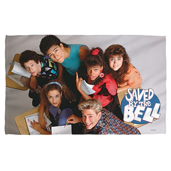 Saved By The Bell/Group Shot Bath Towel
