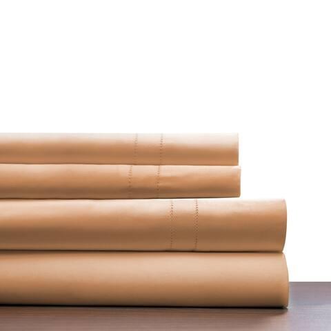 Pointehaven Deep Pocket 620 Thread Count Long Staple Cotton Sheet Set