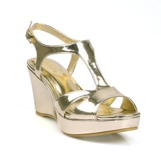 Celeste Hedy-z-02 Women's Wedge Party Sandals