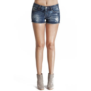 Cult Women's Blue Light-wash Denim Tantra Short in Liv Shorts (More options available)