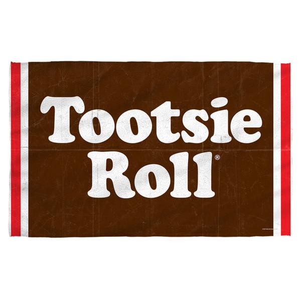 Tootsie Roll/Wrapper Bath Towel