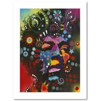 Dean Russo 'Jimi Hendrix' Paper Art
