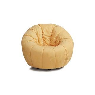 Marion Gold Swivel Pumpkin Chair