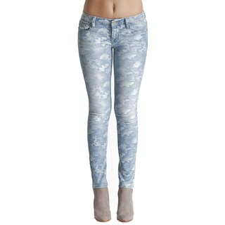 Cult Women's Light-camo Denim Teaser Skinny Jeans (More options available)