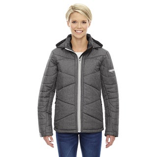 Avant Women's Carbon Heathered 452 Tech Melange Insulated Jacket With Heat Reflect Technology (Size XS)
