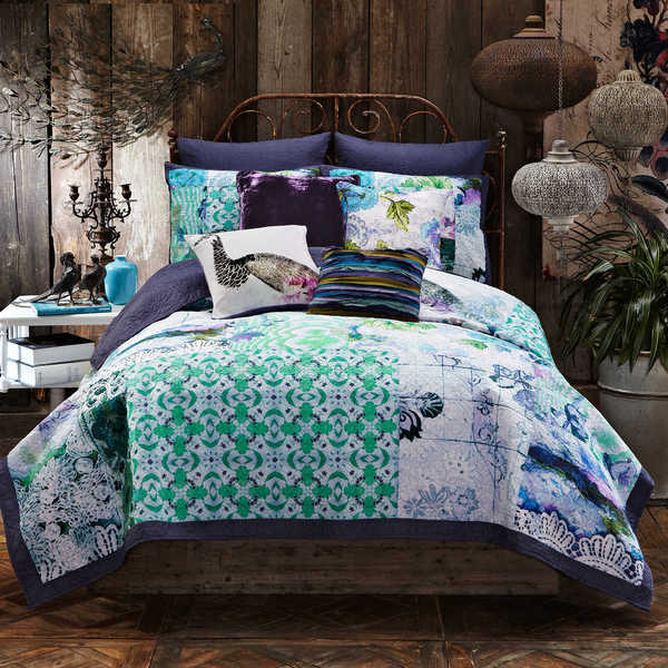 Tracy Porter Ardienne Abstract Printed Quilt