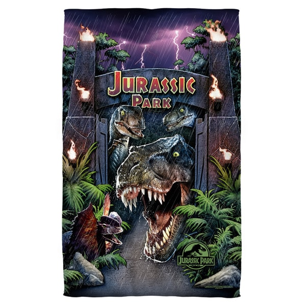 Jurassic Park/Welcome To The Park Bath Towel