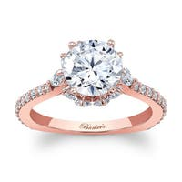 Barkev's Designer 14k Rose Gold 2ct TDW Diamond Engagement Ring