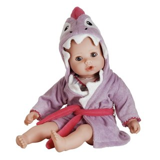Adora BathTime Baby Shark Robe 13-inch Washable Soft-body Play Doll for Children 12 Months and Up