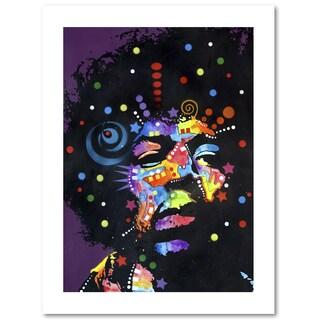 Dean Russo 'Jimi' Paper Art