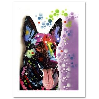 Dean Russo 'German Shepherd II' Paper Art