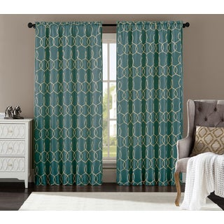 Sandrah 55-inch x 84-inch Single Rod Pocket Curtain Panel