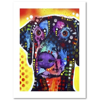 Dean Russo 'Dobie' Paper Art