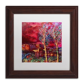 Lowell S.V. Devin 'Pompeii Afternoon' Matted Framed Art