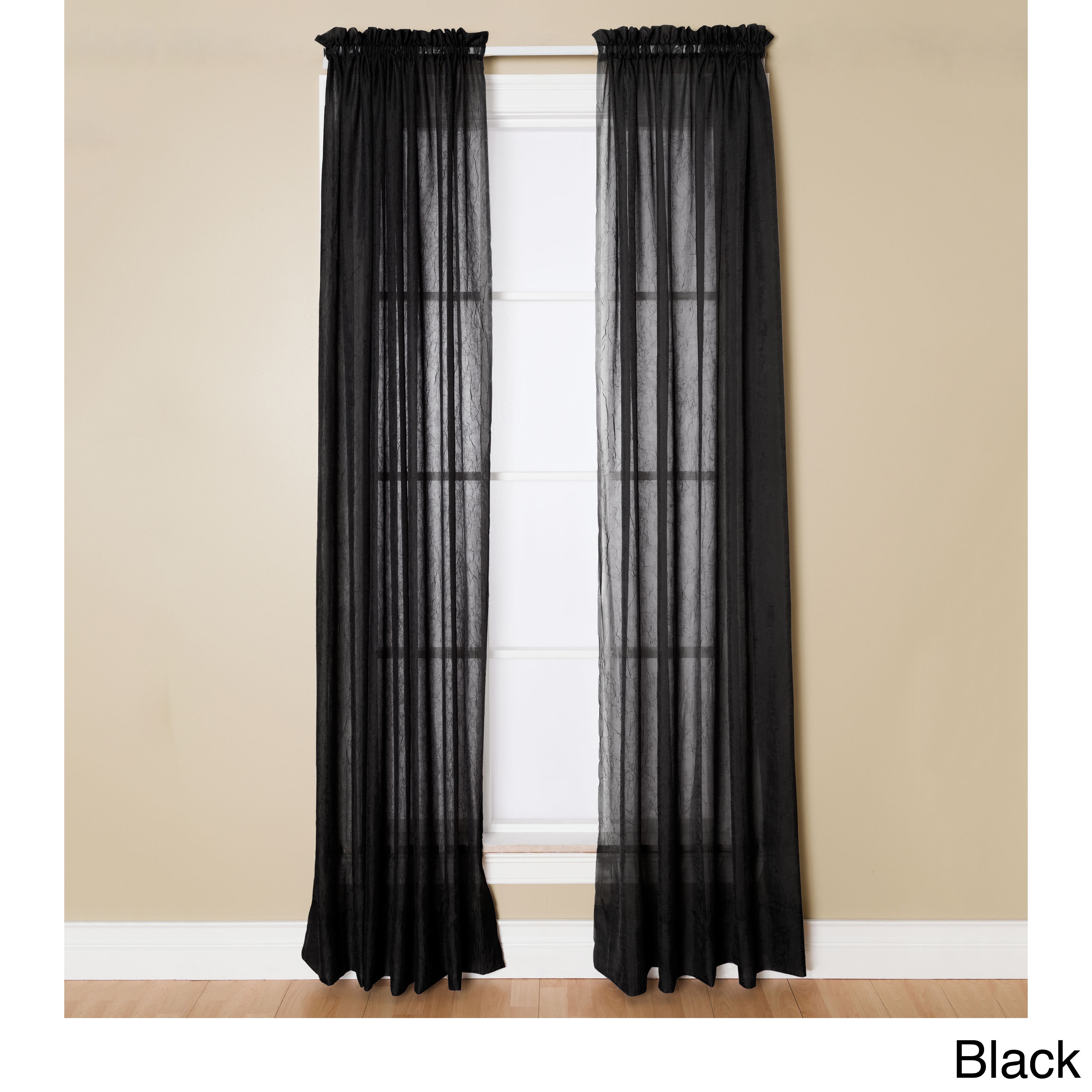 Black 108 Inches Curtains D Online At Our Best Window Treatments Deals