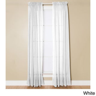 White, 108 Inches Sheer Curtains - Shop The Best Deals For Apr 2017