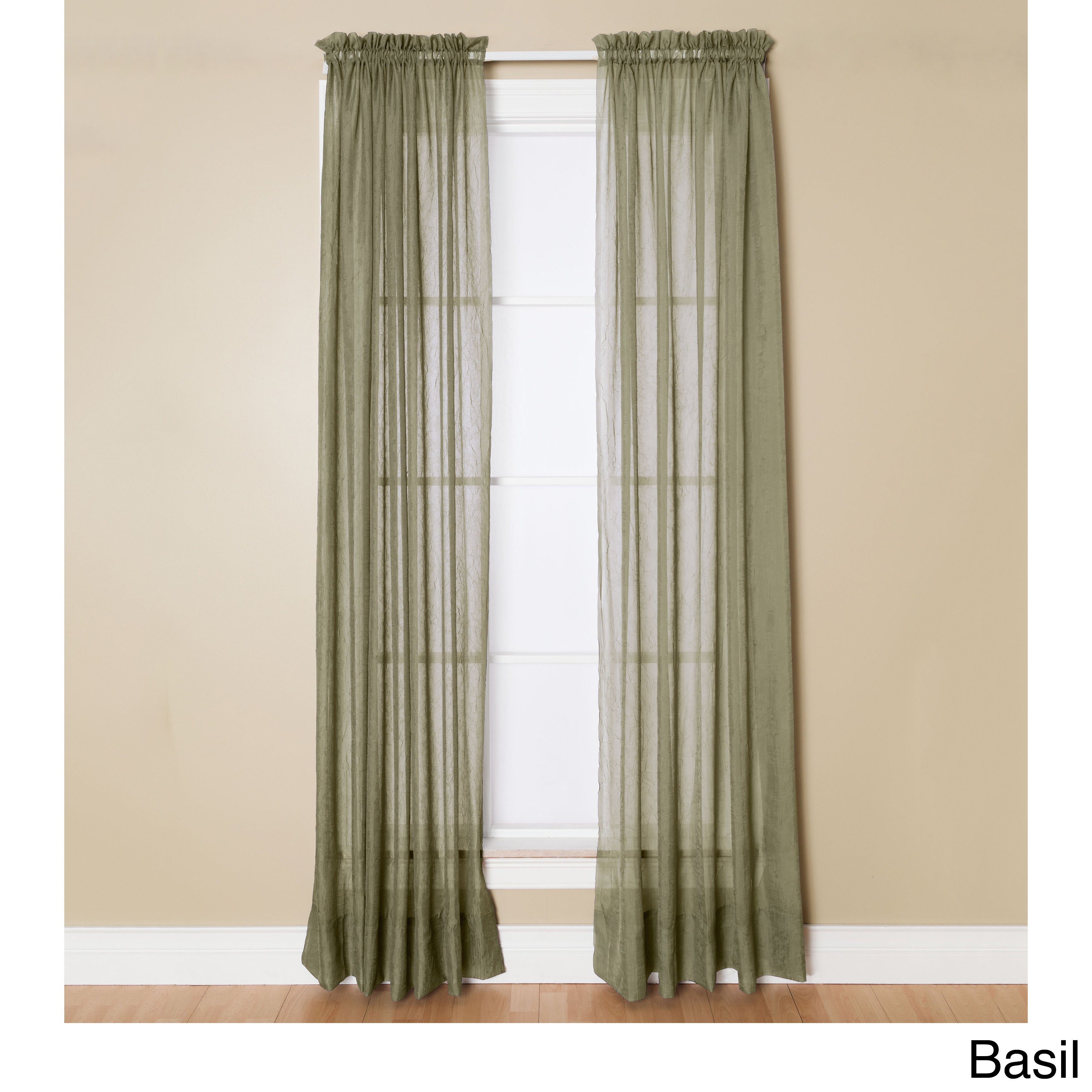 voile window style ruffled panel ranch sheer curtain cascade curtains treatment pin