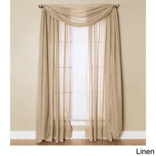 Miller Curtains Preston 216-inch Sheer Window Scarf