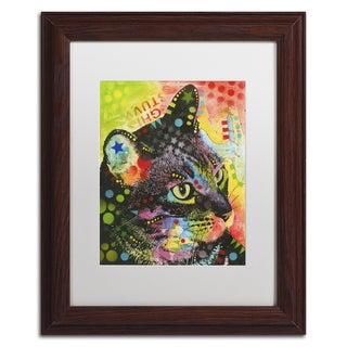 Dean Russo 'What Was That' Matted Framed Art