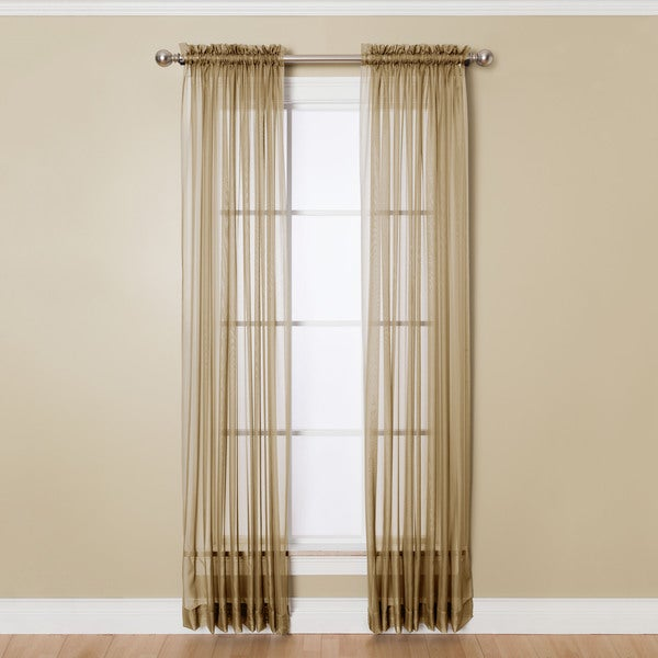 Shop Miller Curtains Angelica Sheer 95-inch Rod Pocket