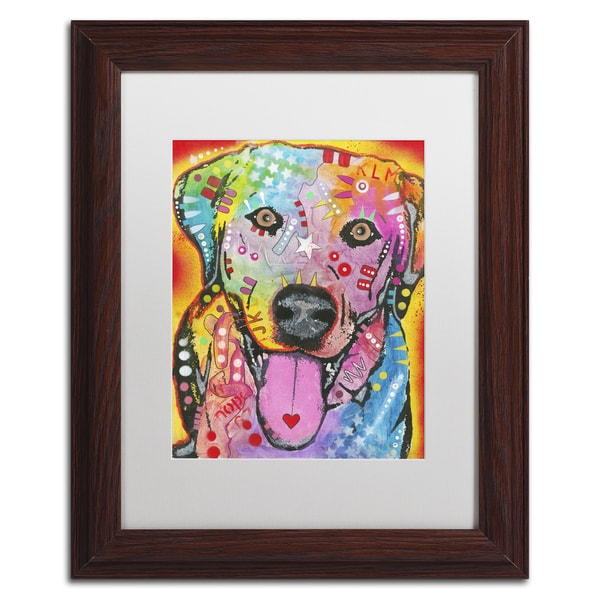 Dean Russo 'Loving Joy' Matted Framed Art