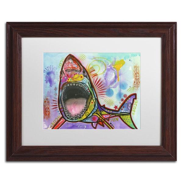 Dean Russo 'Shark 1' Matted Framed Art