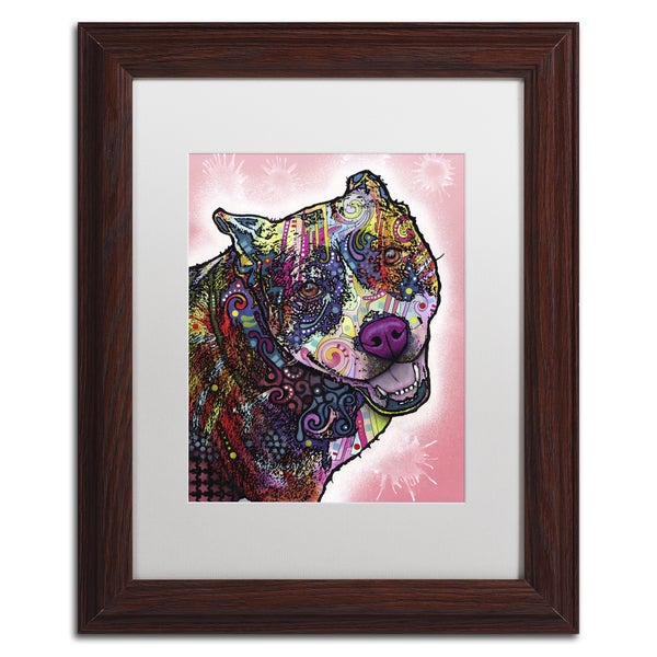 Dean Russo 'Indelible' Matted Framed Art