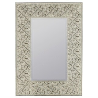 Jeffords White Wall Mirror