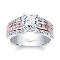 Barkev's Designer 14k Two-tone Gold 1 1/6ct TDW Diamond Engagement Ring