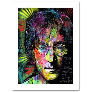 Dean Russo 'Lennon Front' Paper Art